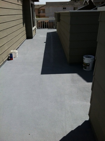 Torrance deck coating repair