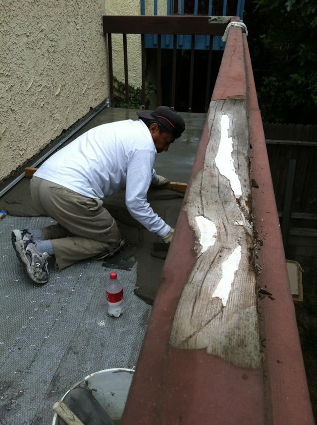 Redondo Beach Waterproof Deck